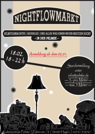 Nightflowmarkt – Nachttrödeln in der Pelmke