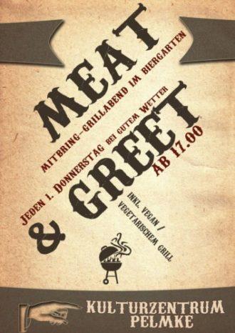 Meat & Greet (Mitbring-Grillabend im Biergarten)