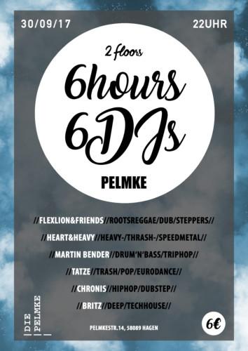 6×6 / 6 Stunden, 6 DJs
