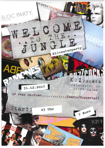 Welcome to the jungle – Silvesterparty