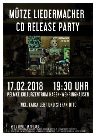 Mütze Liedermacher CD Release Party