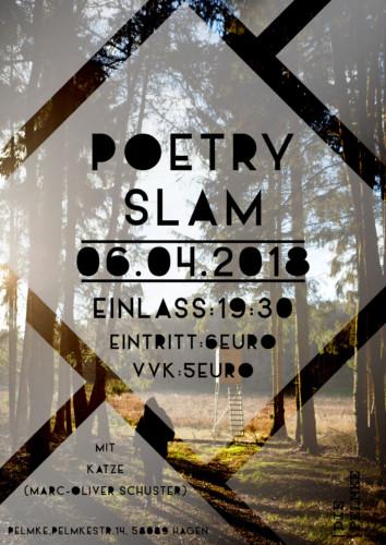 Poetry Slam mit Katze
