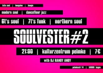 A Funkadelic Soulvester- Party mit DJ Randy Andy