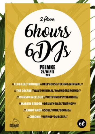 6×6 – Eine Nacht, 6 Stunden 6 DJs
