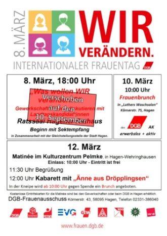 DGB Matinée + Brunch zum Frauentag