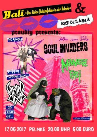 The Soul Invaders + Grim van Doom + Manege frei