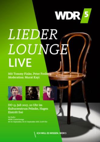 WDR 5 Liederlounge mit Tommy Finke und Peter Freiberg