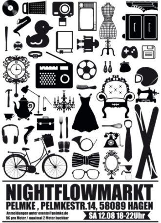 Nightflowmarkt – Trödeln in der Pelmke