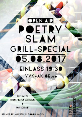 Open Air Poetry Slam inkl. Grillwurst