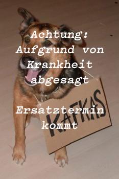 Kafkas + Instead  Off ! Hinweis: Aufgrund von Krankheit abgesagt!!