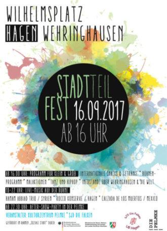 Stadtteilfest auf dem Wilhelmsplatz
