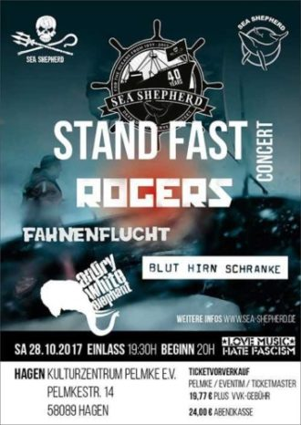 Sea Shepherd Stand Fast Concert