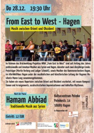 From East to west Ensemble und Hamam Abbiad