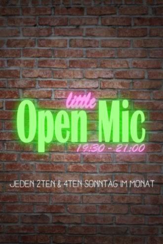little OPEN MIC
