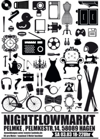 Nightflow Markt – Nachttrödel in der Pelmke