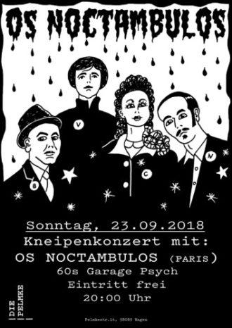 Kneipenkonzert mit Oz Noctambulos