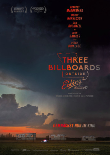 Three Billboards outside Ebbing, Missouri (Kirchen & Kino)