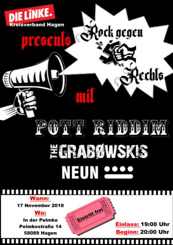 Die Linke, Kreisverband Hagen presents: Rock gegen Rechts