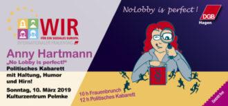 "Anny Hartmann ""No Lobby is perfect"" – DGB Hagen"