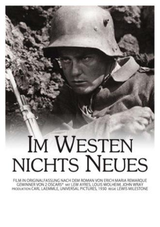 FÄLLT AUS! Im Westen nichts neues (KLARSICHTKINO)