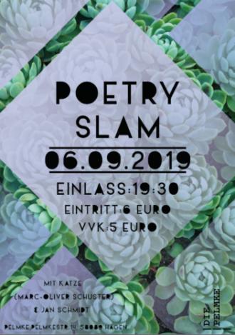 Poetry Slam mit Katze und Jan Schmidt