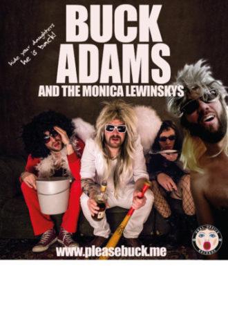 Kostron & sein Manager + Buck Adams