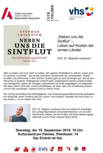 """""""Neben uns die Sintflut"""" – Leben auf Kosten der armen Länder (Prof. Dr. Stephan Lessenich)"""