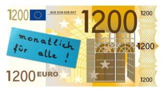 1.200€ Für alle! Bedingungsloses Grundeinkommen Vortrag mit Dr. Fliege