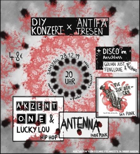DIY-Konzert & Antifa Tresen