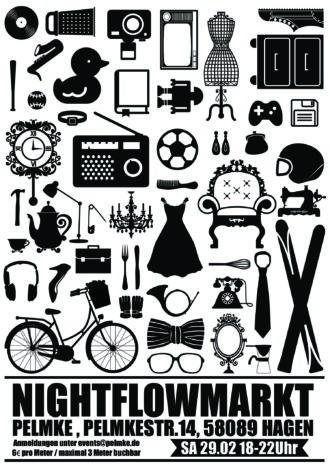 Nightflowmarkt – der Nachttrödel!