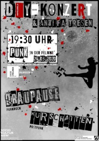 !!!Abgesagt!!! DIY Konzert & ANTIFA Tresen