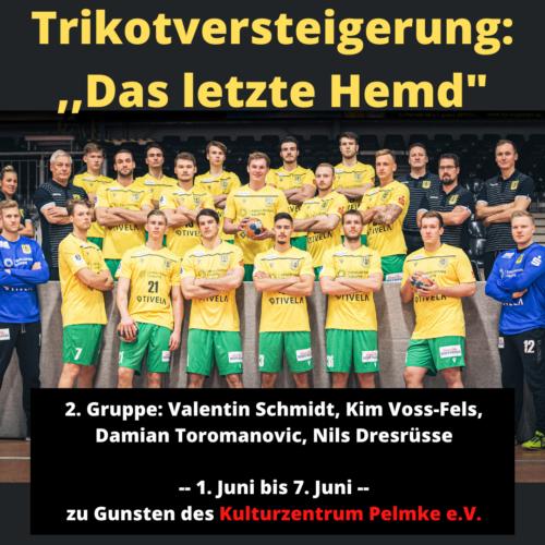 Eintracht Spieler geben ihr letztes Hemd! – Auktion