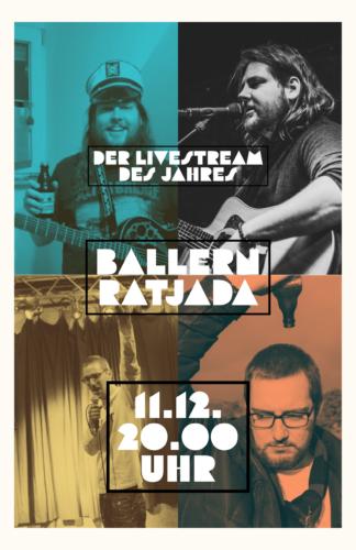 Ballern Ratjada LIVESTREAM – mit Jan Schmidt & Philipp Klaus