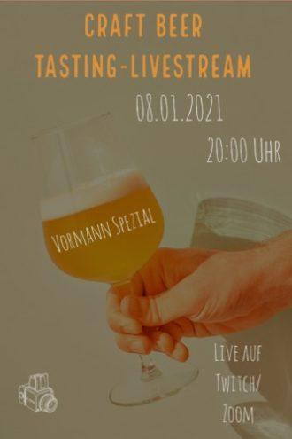 Online Craft Beer-Tasting – Vormann Spezial