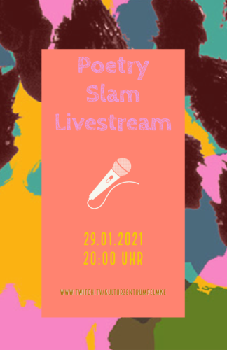 Poetry Slam-Stream mit Jan Schmidt