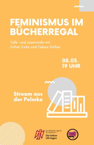 Feminismus im Bücherregal – Livestream