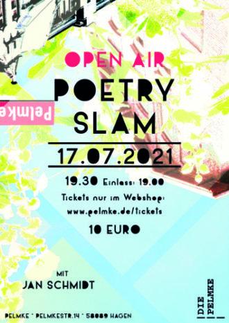 Open Air Poetry Slam mit Jan Schmidt