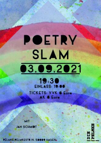 Poetry Slam mit Jan Schmidt